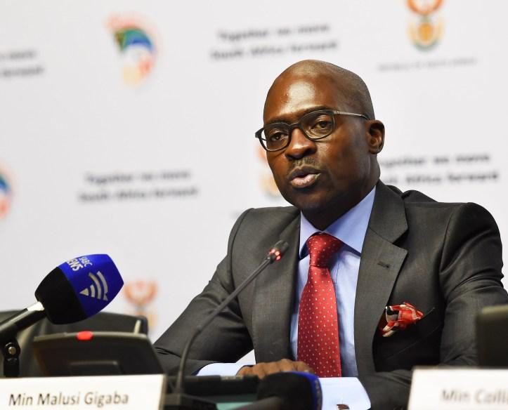 Malusi Gigaba - SA Finance Minister 11