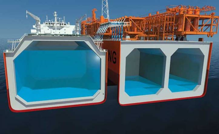 FLNG terminal - hoeg-lng-karusell
