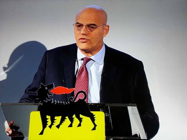 ENI CEO Claudio-Descalzi