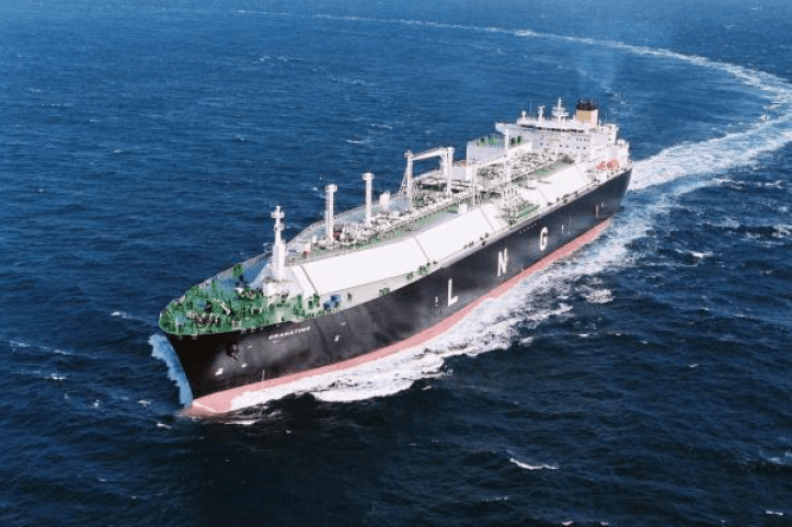LNG vessel-shell