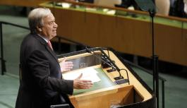 "Sustainability: ""We are losing the race on climate change"" – UN chief Antonio Guterres"