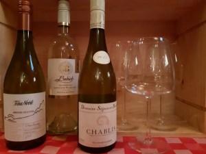 onze witte wijn aan de kaart