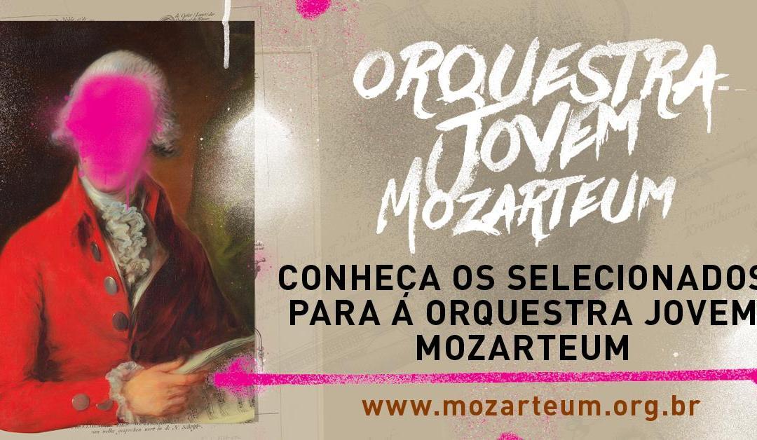 Confira os selecionados para a Orquestra Jovem Mozarteum
