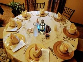 Weakland-Sexton Wedding Table