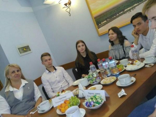 Поездка выпускников Можгинского детского дома в Госсовет ...