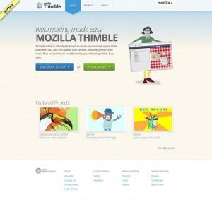 'Mozilla Thimble'