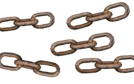 Roztrhaný řetěz