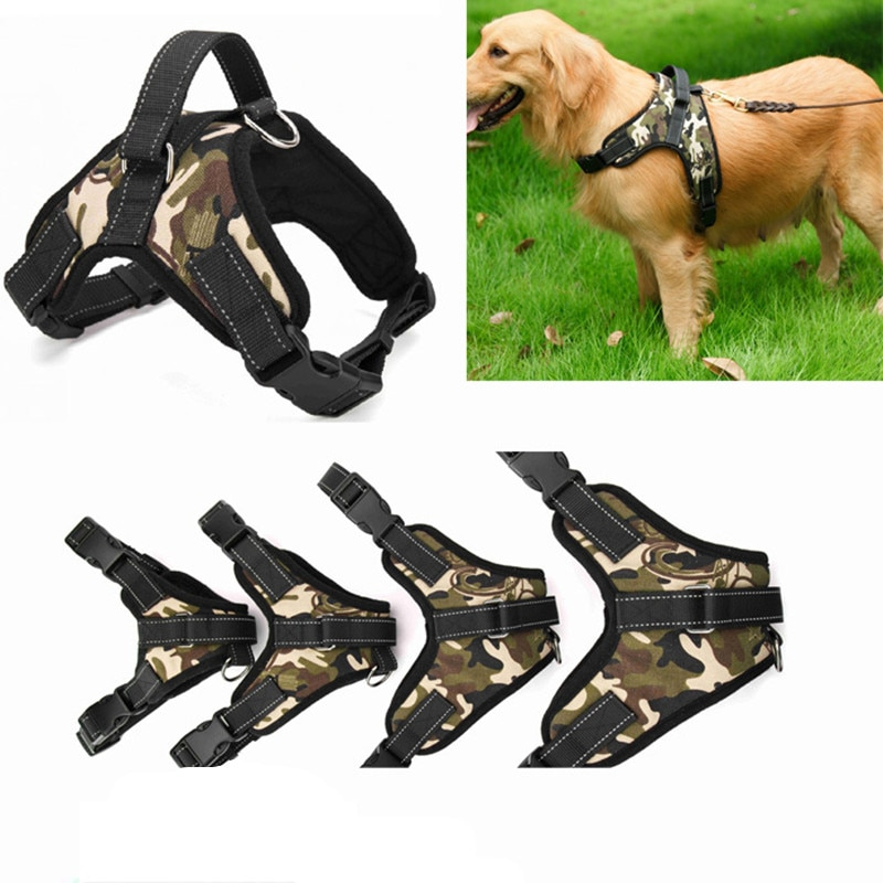 All In One No Pull Dog Harness Vest