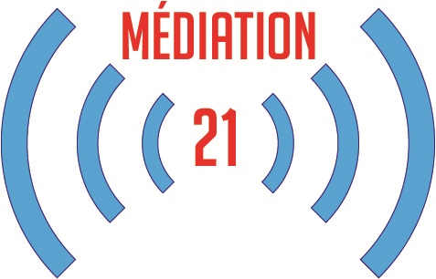 le logo de Médiation 21