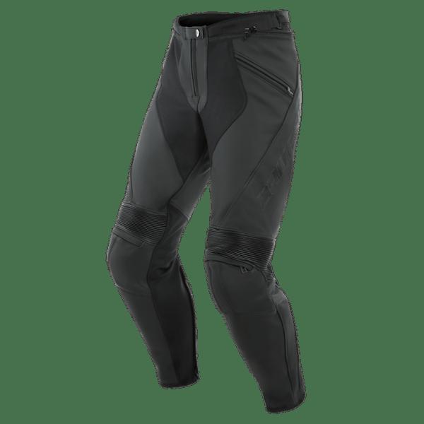 Dainese  PONY 3 LEATHER PANTS BLACK