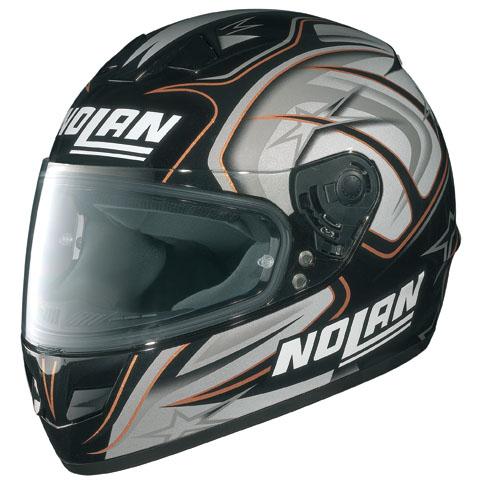 Nolan  N62 RACER SORT/SØLV