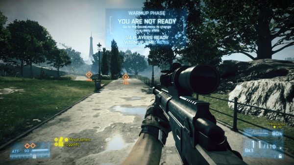 """An Initial Look at Battlefield 3′s """"Matches"""" Feature, Coming Soon"""