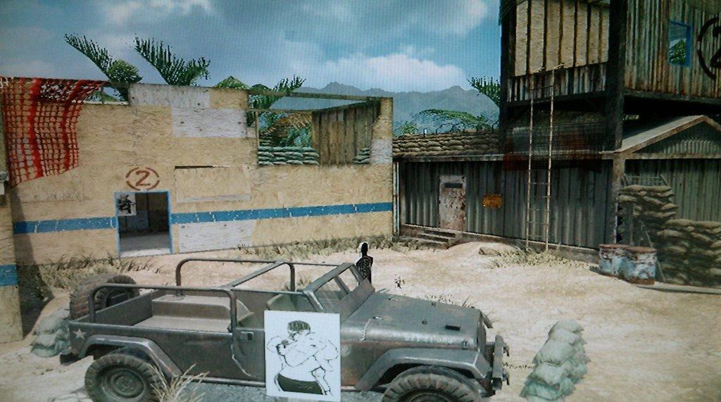 Black Ops 2 Uprising DLC Firing Range And Studio Remake