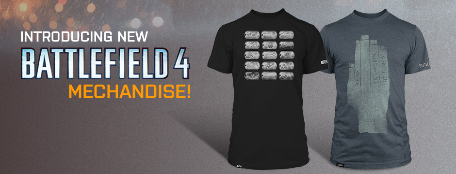 Get Your Battlefield 4 Gear DICE Re Opens Online Merch Store MP1st