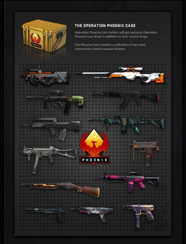 CSGO Operation Phoenix Adds Community Made Maps And
