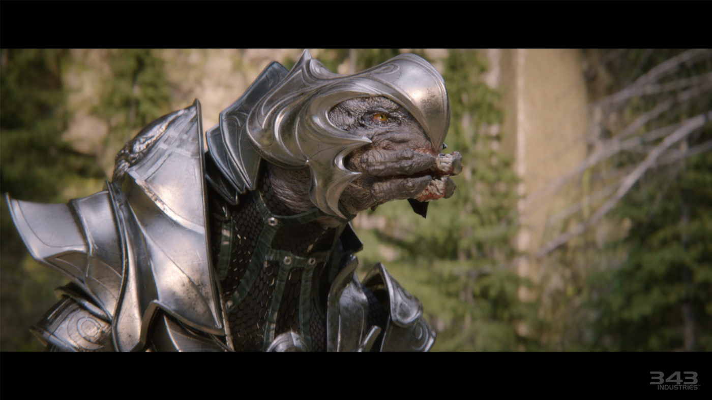 Check Out Halo 2 Anniversarys Beefed Up Cut Scenes In