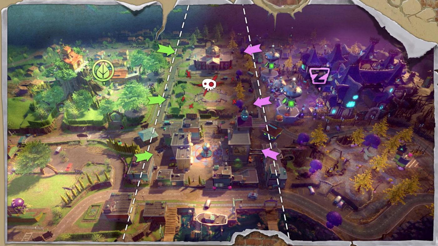 Vs Zombies Plants Warfare Garden Background 2