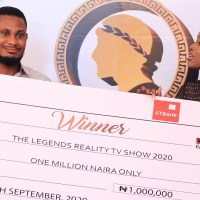 BREAKING NEWS | A YOUNG NIGERIAN COSMETICS BUSINESS MAN, STANLEY WINS THE LEGENDS REALITY TV SHOW 2020