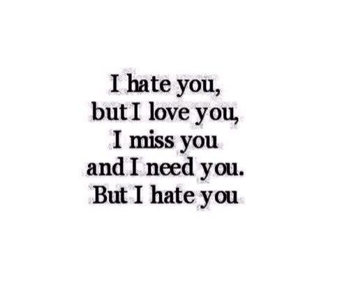 люблю и ненавижу песня