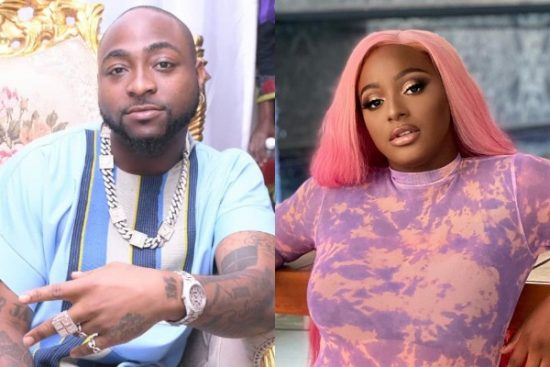 Davido reacts to DJ Cuppy suing his logistic manger, Isreal DMW