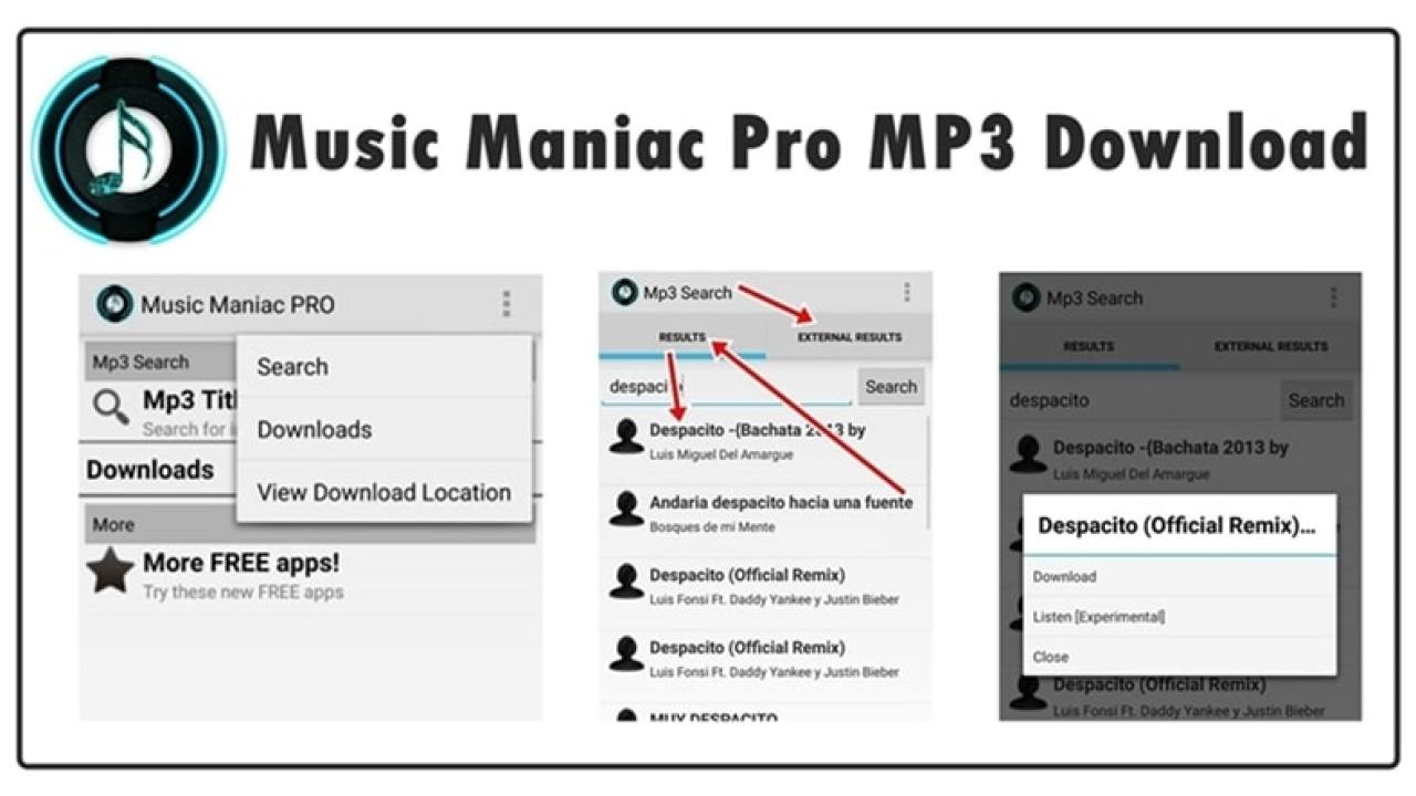 Music Maniac Pro App Download for Android (2019)