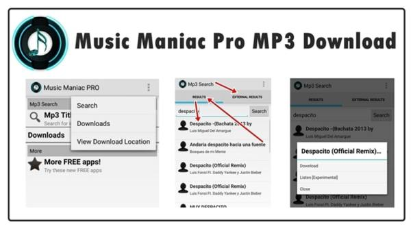 Music Maniac Pro MP3 Download for Android