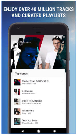 google play music library