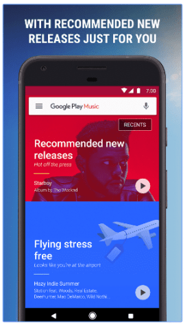 google play music new release