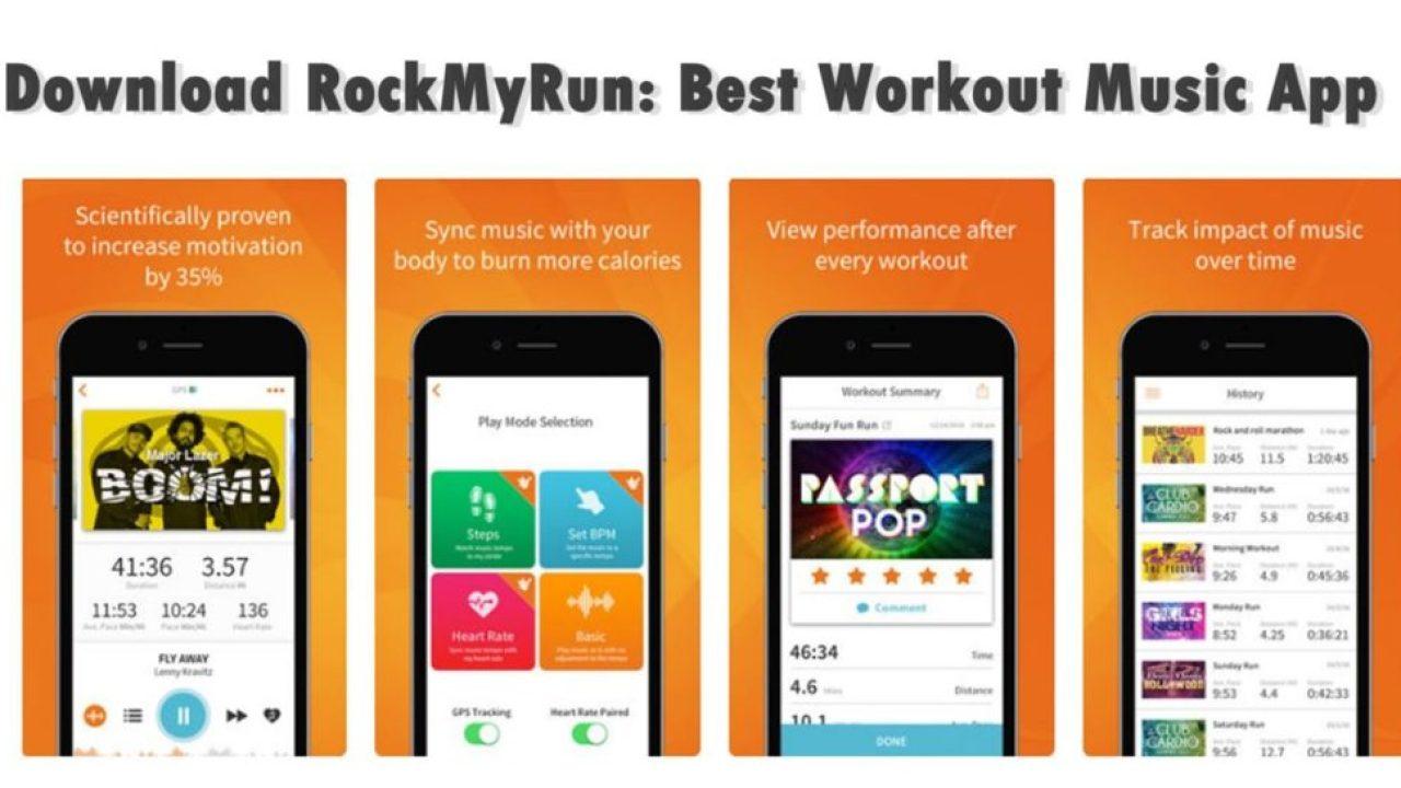 Download RockMyRun: Best Workout Music App (Latest Version)