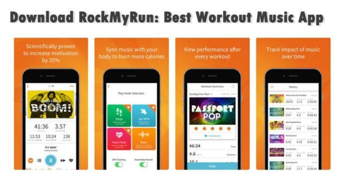Download RockMyRun: Best Workout Music App