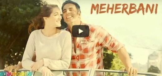 Meherbani Lyrics - Jubin Nautiyal - The Shaukeens
