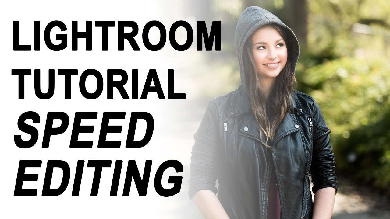 "Adobe Lightroom Tutorial: Episode 2 ""Speed Editing"""