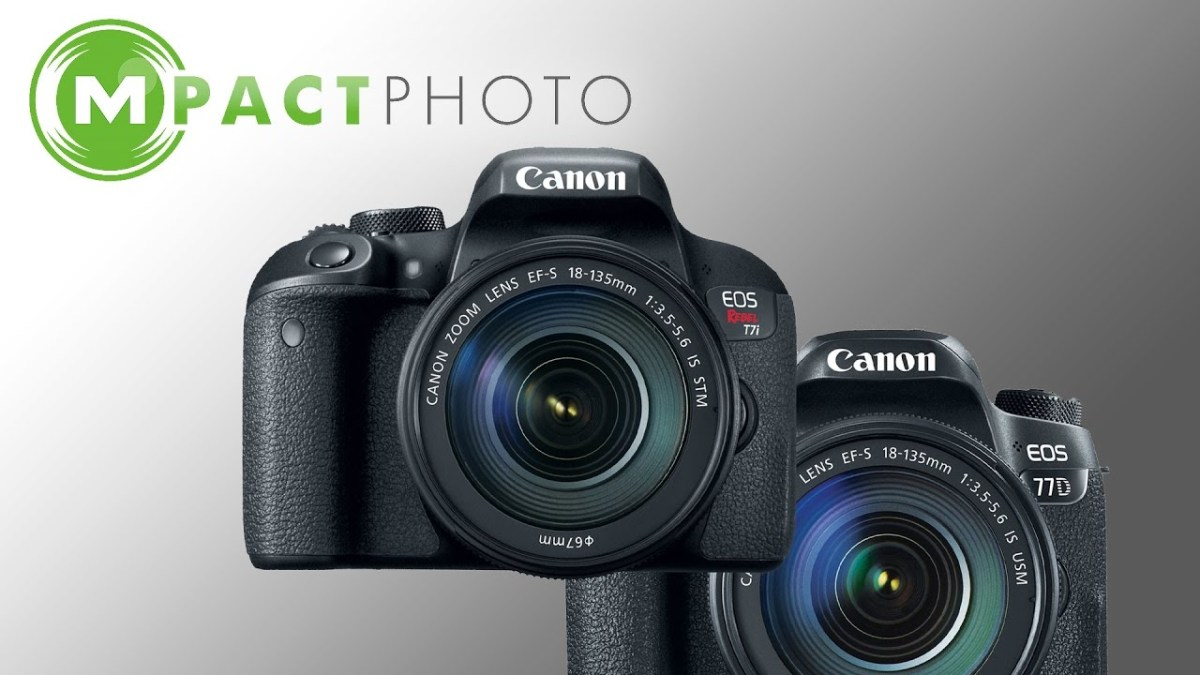 NEW CAMERAS COMING SOON - Canon EOS 77D & Rebel T7i - MpactPhoto