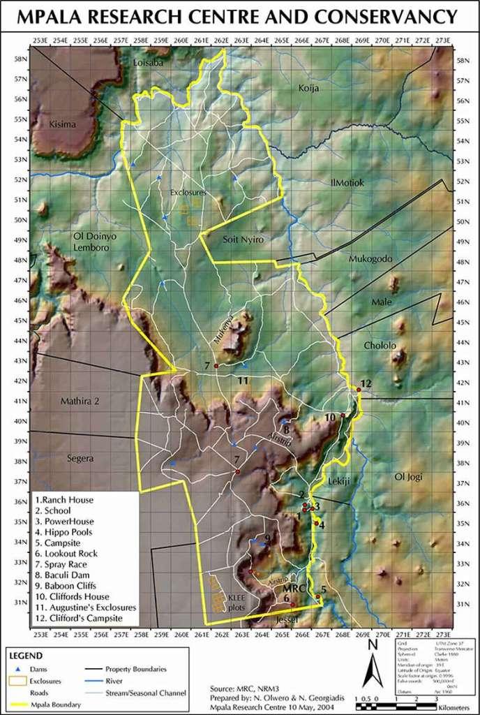 Mpala Map