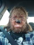 Old School Werewolf Make-Up