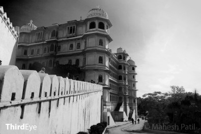 The Fateprakash Palace hotel inside the Palace
