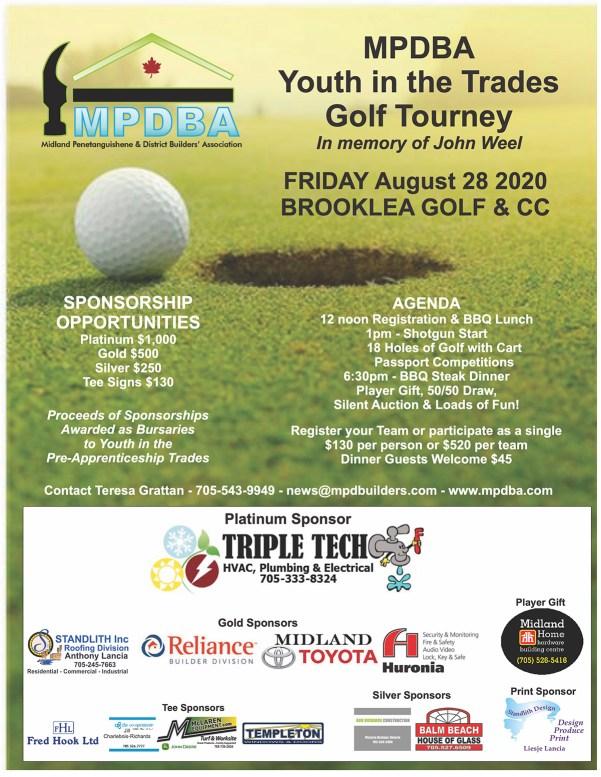 MPDBA Golf Tourney 2020