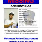 MISSING: Anferny Diaz