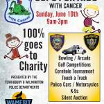 Methuen Police To Participate in Cops For Kids With Cancer Fundraiser on Sunday, June 10th at Wamesit Lanes in Tewksbury