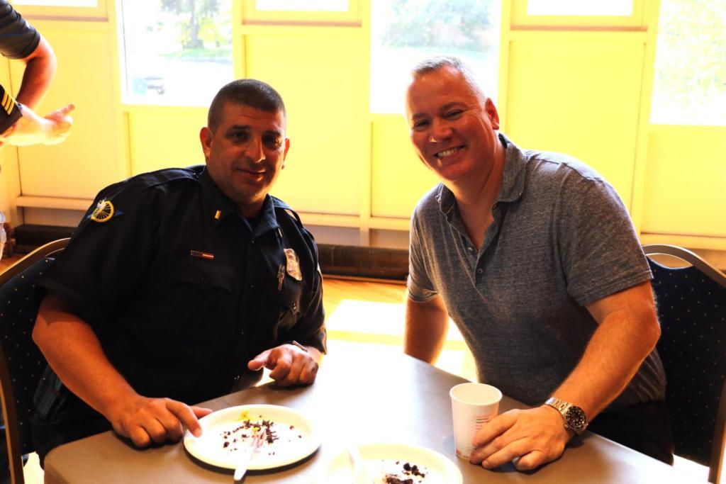 Lt. Joe Aiello and Capt. Gregory Gallant