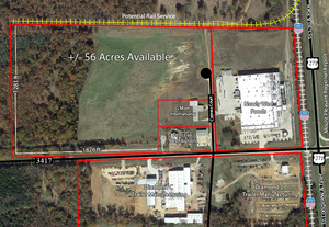 Cypress Industrial Park overhead layout