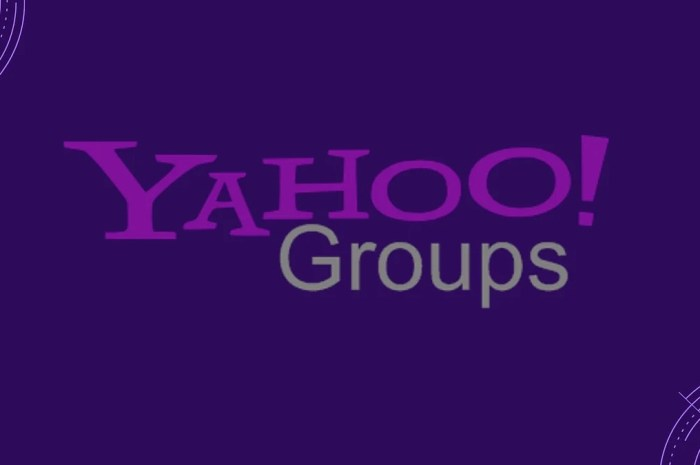 Yahoo Groups To Shut Down On December 15 2020