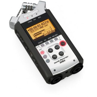 The Zoom H4n: you could record a rock album on a bus with this thing.