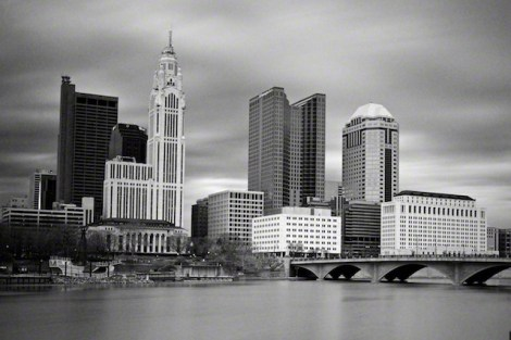 """Downtown"" by Aaron Sheldon. Shot with a Canon 5D Mark III with Cokin P.007 External IR Filter."