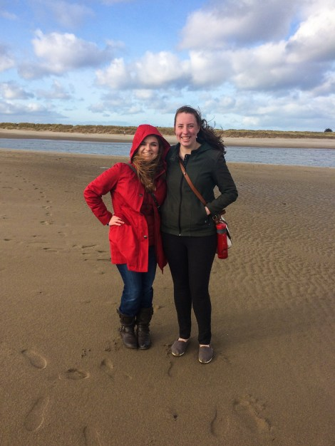 Danielle and I on the coast of Malahide on my last day.