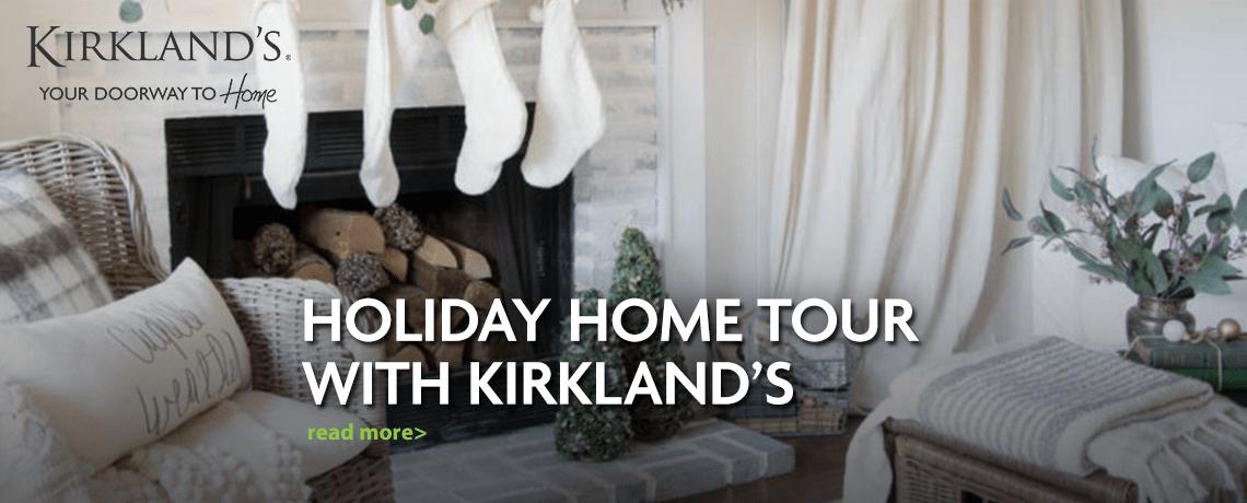 social influencers holiday home tour
