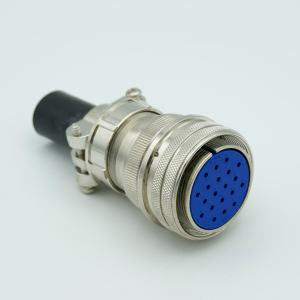 """MS Series Air-side Connector, 20 Pins, 700 Volts, 10 Amps per Pin, Accepts 0.056"""" or 0.062"""" Dia Pins"""
