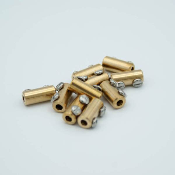 """In-line Connectors, Beryllium-Copper alloy, 0.12"""" Dia Pin, Package of 10"""