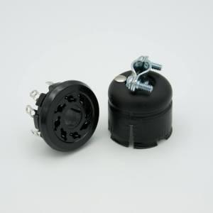 MPF - A4773-1-CN Octal, Air-Side Connector, 8 Pins, 1000 Volts, 5 Amps Per Pin, 5 Amps All Pins Loaded
