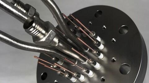 Titanium Feedthrough Assembly